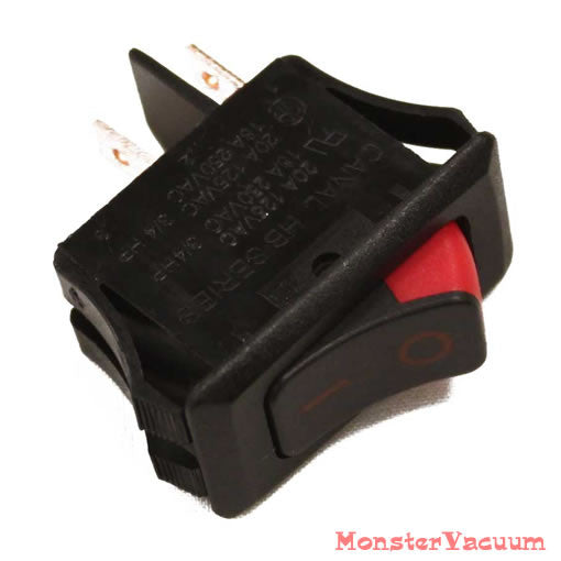 Oreck XL Vacuum Cleaner One Speed Rocker On/OFF Switch Genuine 75559-01 77242-01 75559-01