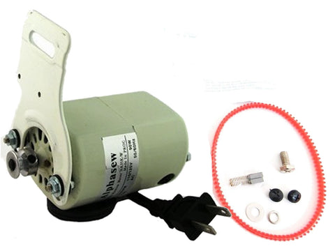 Alphasew Universal Home Sewing Machine Motor White 110V 0.9A 7000RPM 90W NA35K