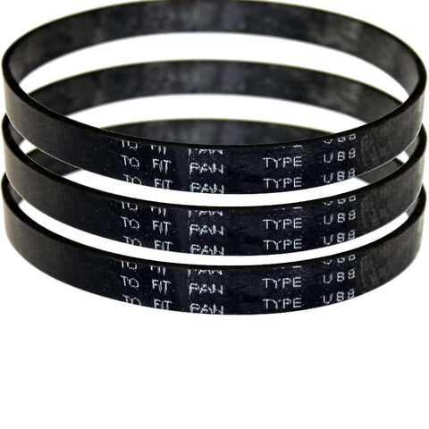 Panasonic Type UB8 7300 Series Upright Belts 3pk 14829