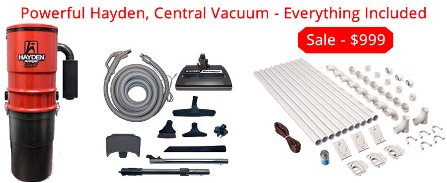 Hayden Central Vacuum Sale
