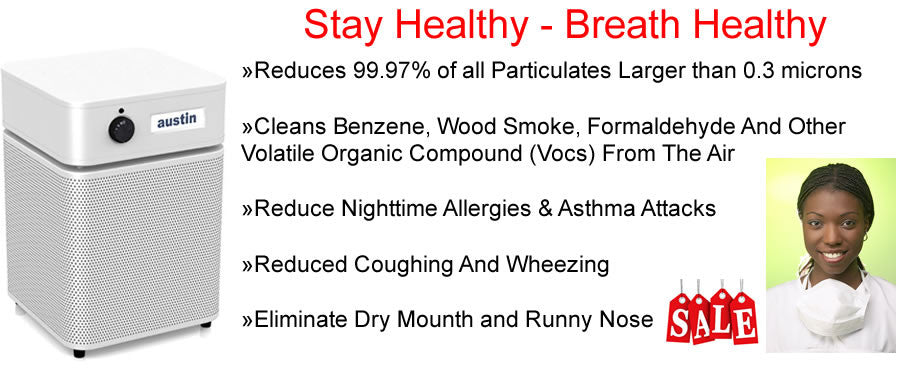 Breath Healthy with Austin Air