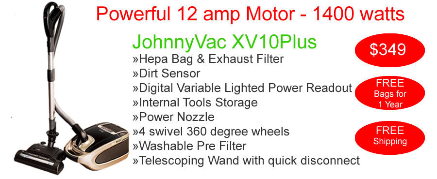 Powerful JohnnyVac Vacuum