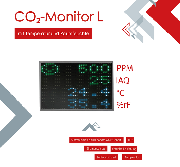 TSR Messtechnik CO2 Monitor L