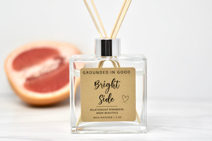 Bright Side Diffuser with Natural Reeds and Grapefruit