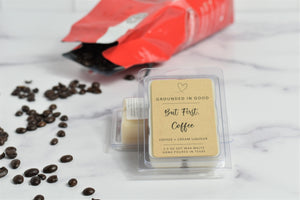 But First, Coffee Wax Melts