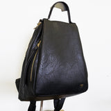 4W6824- Textured Backpack