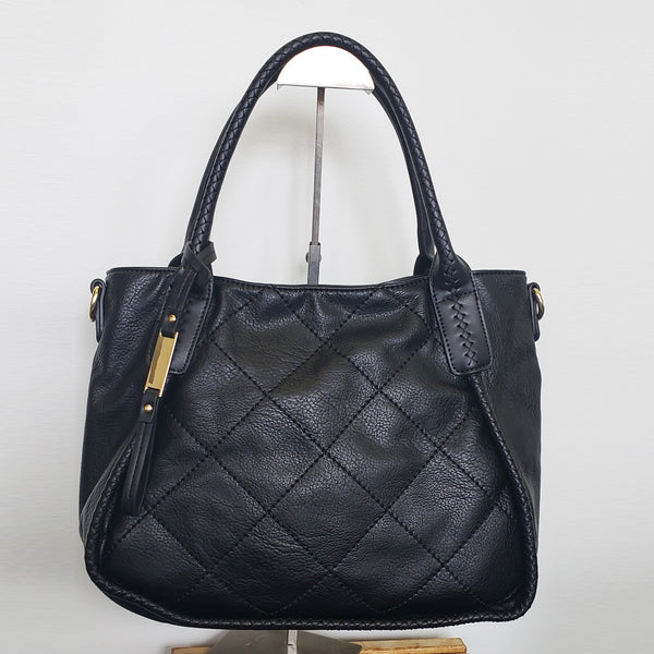 AS4045- Diamond Quilt Tote