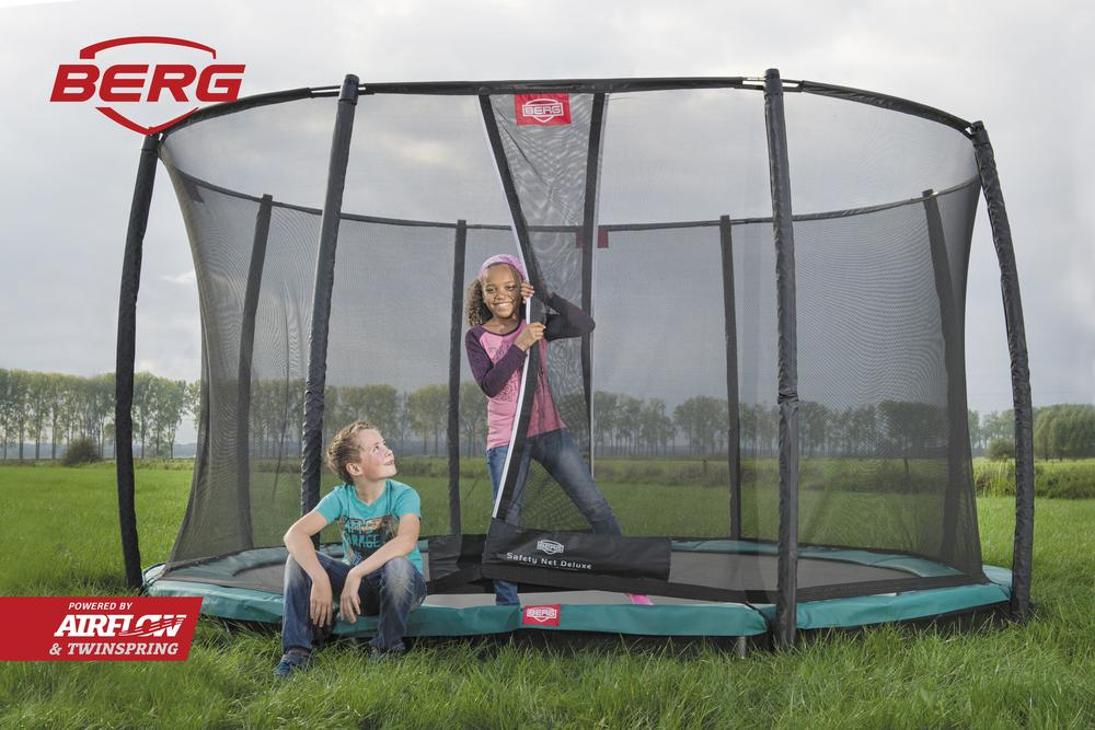 Berg Inground Champion Trampoline - Round