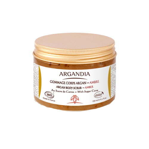 Argan Body Scrub - Amber 150ml