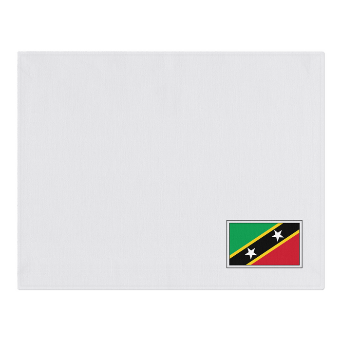 Saint-Kitts-and-Nevis Woven Placemats