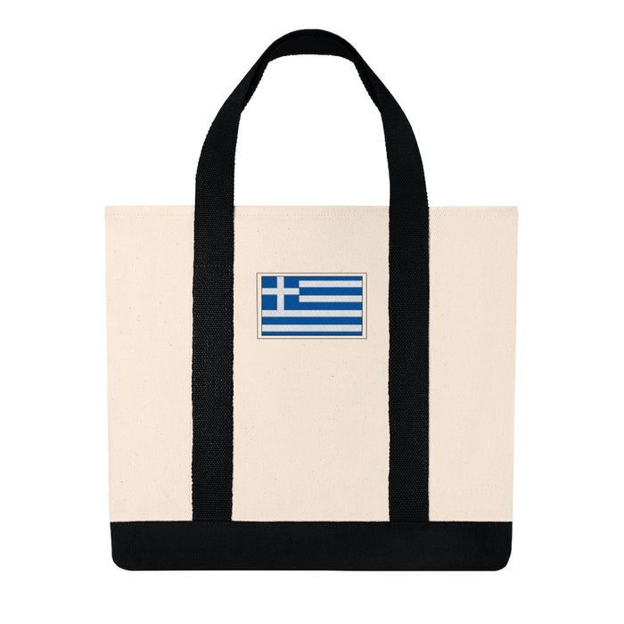 Greece Shopping Tote