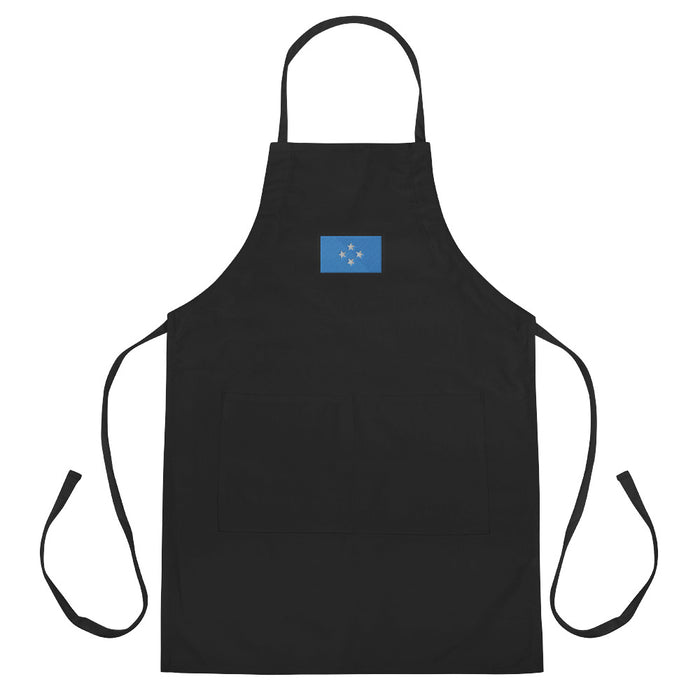 Micronesia Embroidered Apron