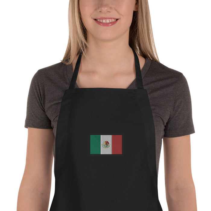 Mexico Embroidered Apron