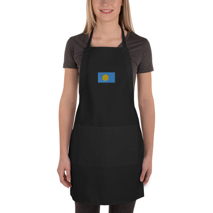 Palau Embroidered Apron