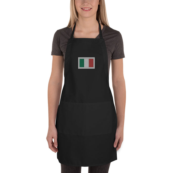 Italy Embroidered Apron