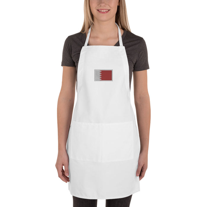 Bahrain Embroidered Apron