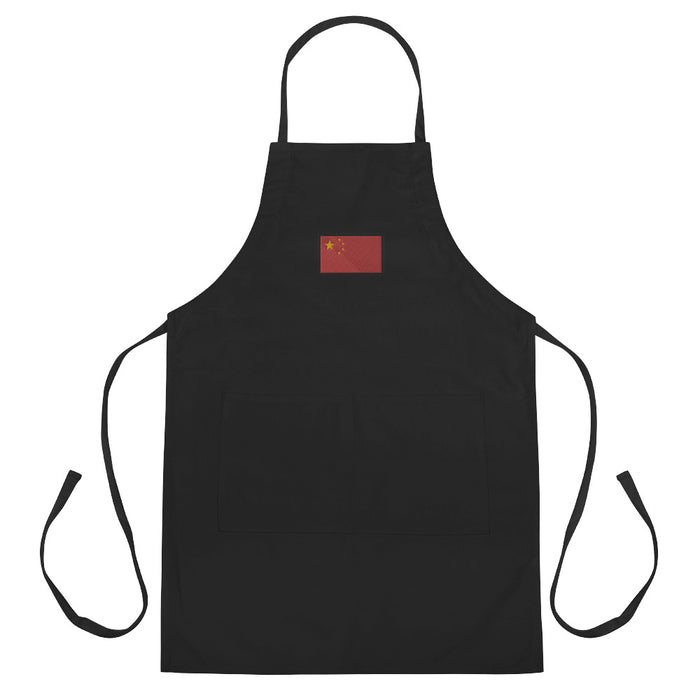 China Embroidered Apron