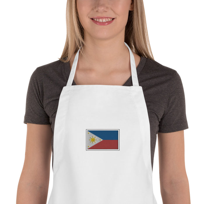 Philippines Embroidered Apron
