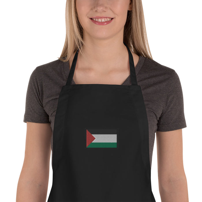 Palestine Embroidered Apron