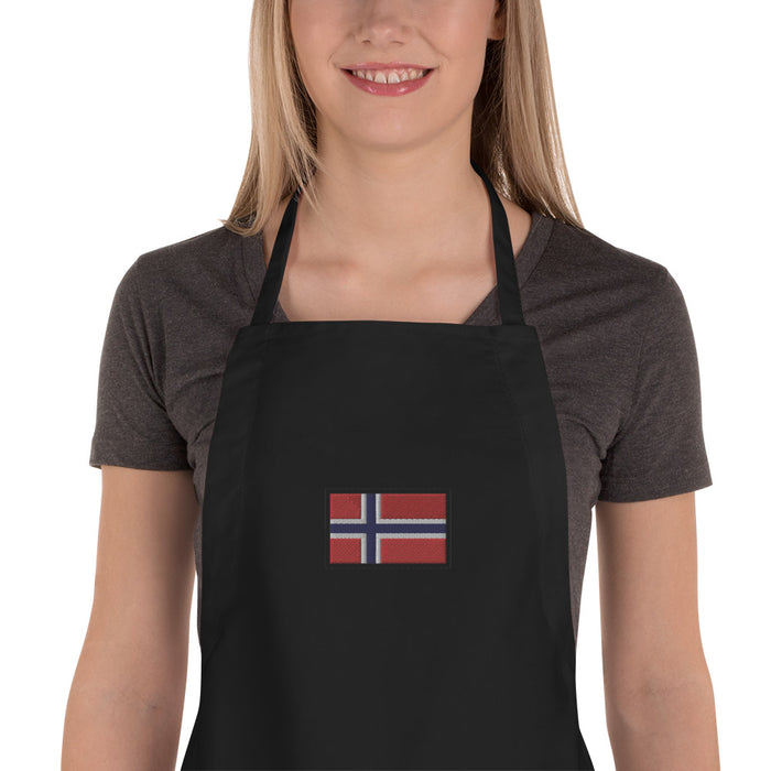 Norway Embroidered Apron