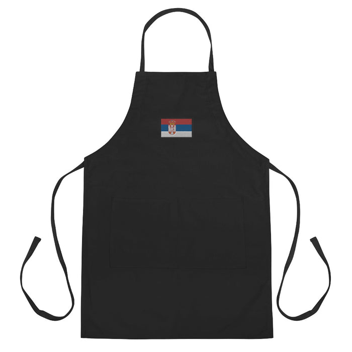 Serbia Embroidered Apron