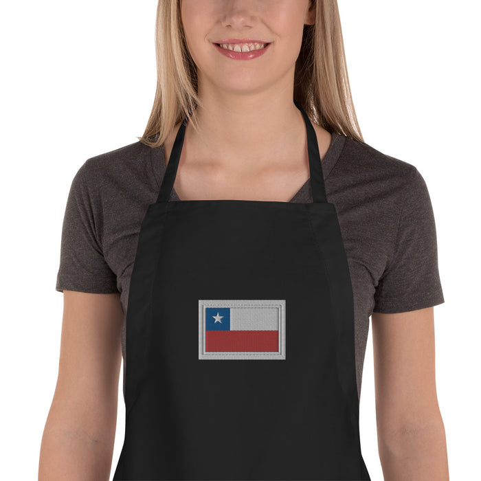 Chile Embroidered Apron