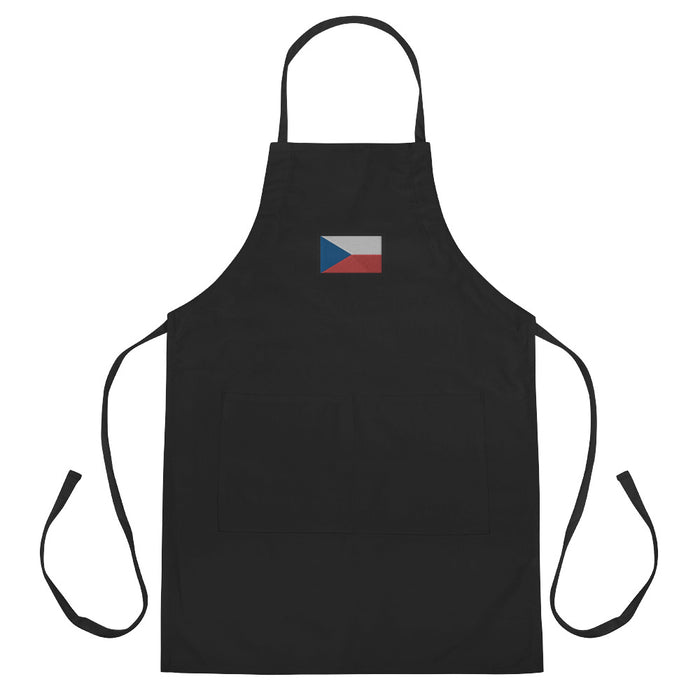 Czechia Embroidered Apron