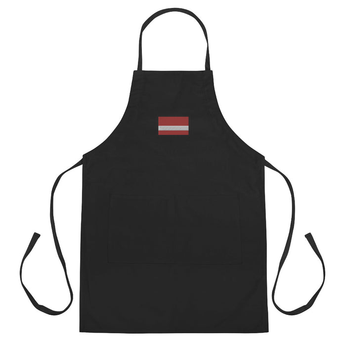 Latvia Embroidered Apron