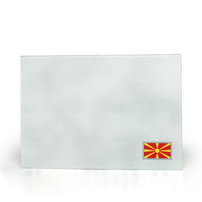 North-Macedonia Glass Cutting  Boards