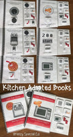 Cooking How to Books (Microwave and Oven) Interactive/Adapted for special ed