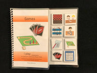 Sports and Games Sentence Starter Adapted Books (I Play)