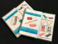 School and Art Supplies Sentence Starter Adapted Books (I Need)