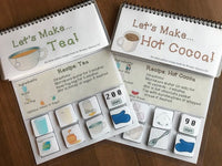 Interactive Cooking Lessons/Visual Recipes: Hot Cocoa and Tea