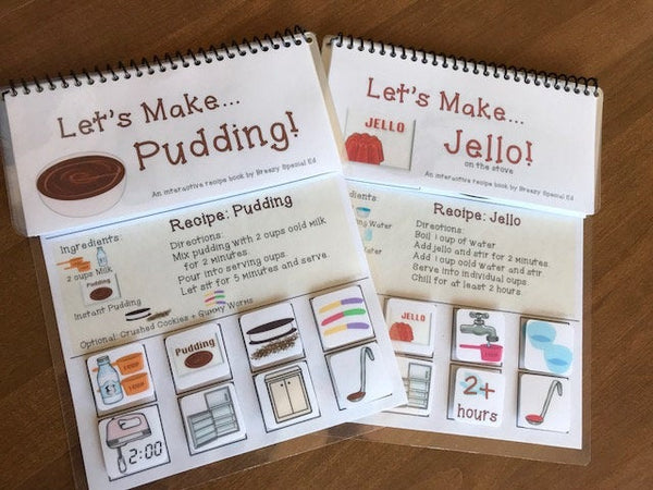 Interactive Cooking/Visual Recipes for Pudding and Jello