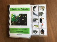 Animal Habitats Adapted Books for Special Education
