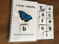Alphabet Review Adapted/Interactive Books  (3pk)