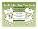 Next AUSTRALIAN Dollar Up Task Cards ~ Special Education ~ Money Math