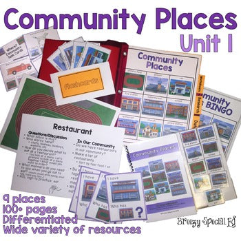 Community Places Unit for Special Education: Unit 1