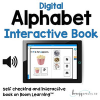 Digital Alphabet Book on Boom Learning (includes audio)