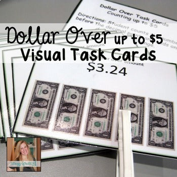 Next Dollar Up - Money Math Task Cards for Special Education