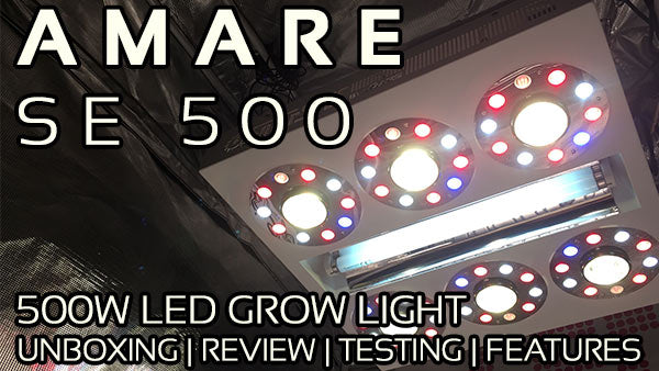 Amare SE 500 Unboxing Review and PAR Testing