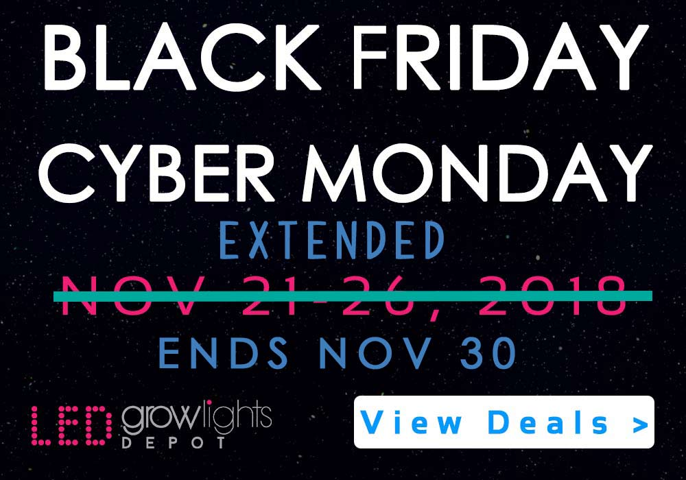 Black Friday Cyber Monday 2019 Led Grow Light Discount