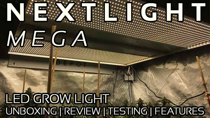 NextLight Mega LED Grow Light Review