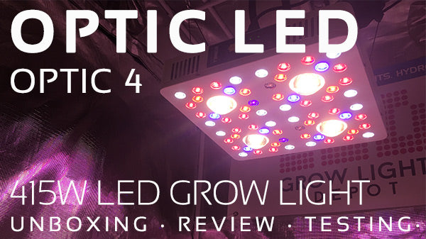 Optic LED Optic 4 LED Grow Light Review