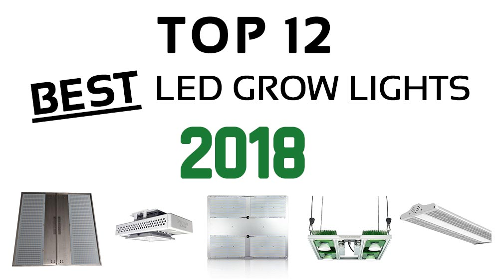Best LED grow lights for 2018