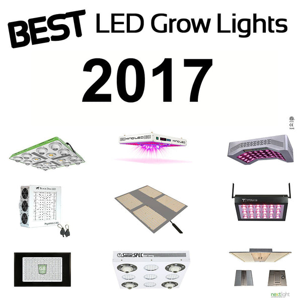 Best LED grow Lights 2017