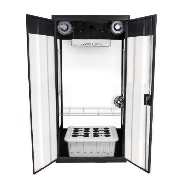 "SuperCloset SuperFlower 3.0 LED Grow Cabinet 36"" x 24"" x 72""  - LED Grow Lights Depot"