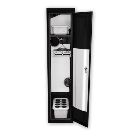 "Image of SuperCloset SuperLocker 3.0 LED Grow Cabinet 15"" x 24"" x 66""  - LED Grow Lights Depot"
