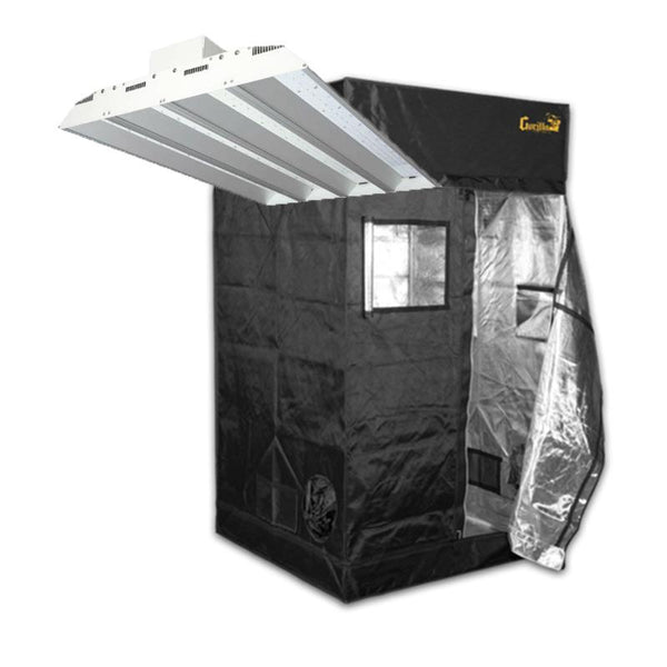 Crecer Lighting PanthrX & Gorilla Grow Tent Package Deal  - LED Grow Lights Depot