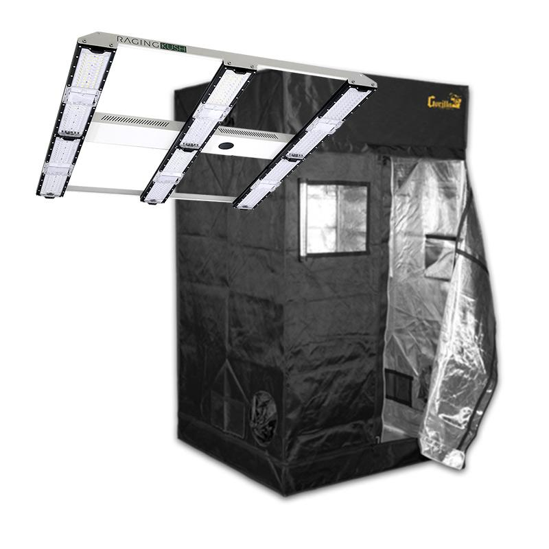 Scynce LED Raging Kush & Gorilla Grow Tent Package Deal  - LED Grow Lights Depot